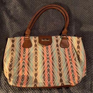 Call It Spring Aztec Print Oversized Bag